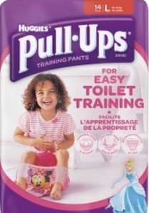 Huggies Pull Ups Night Time Potty Training Pants Girls and boys Size Large x12  £1.99 @ Home bargains