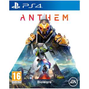 Anthem PS4 from Amazon possibly £33.45 w/ voucher code @ Amazon