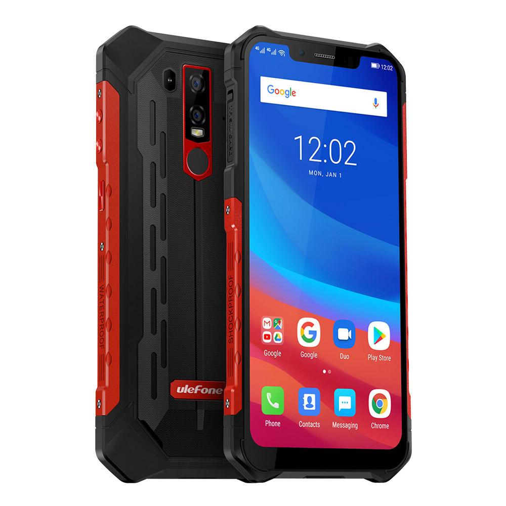 Ulefone Armor 6 NFC IP68 IP69K Waterproof 6.2 inch 6GB 128GB Helio P60 Octa core 4G Smartphone @ Banggood - £255.84