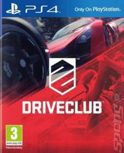DRIVECLUB PS4 (pre-owned) £5.84 w/code delivered @ MusicMagpie