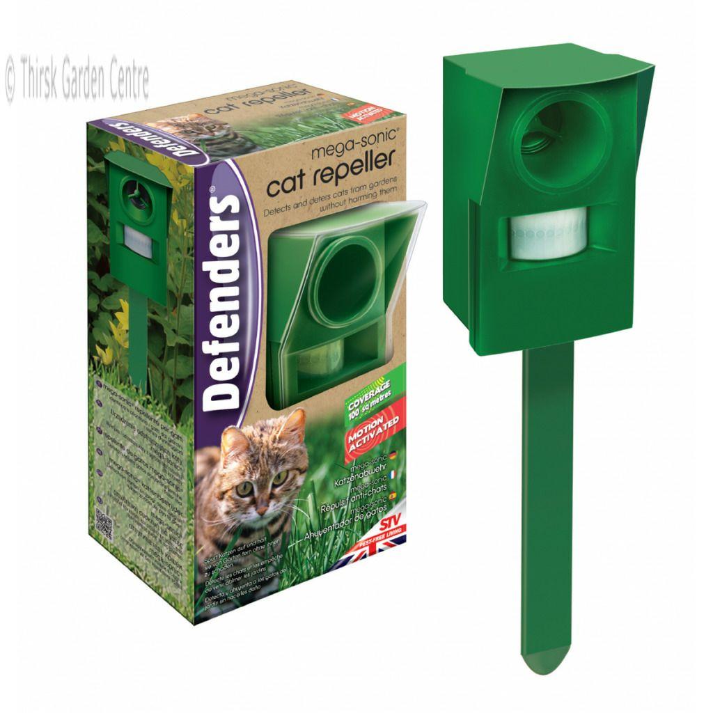Defenders Mega-Sonic (ultrasonic) Cat Repeller on Sale at £3.50 in-store at Wilkos