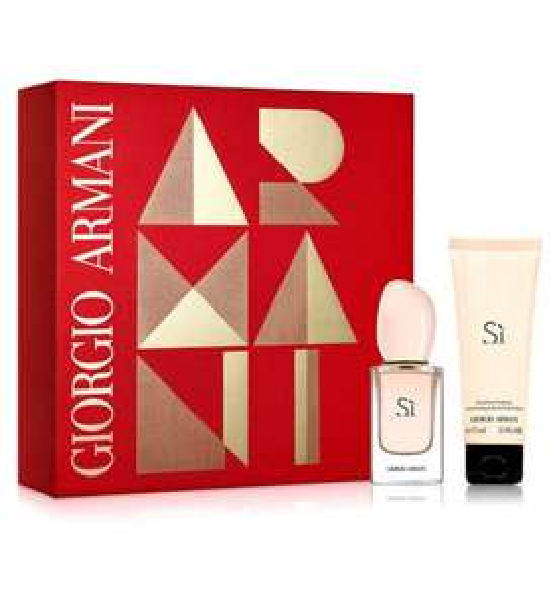 Giorgio Armani Sì Eau de Toilette 30ml Christmas Gift Set for her £26.98 Boots - free c&c