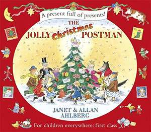 The Jolly Christmas postman  (Hardcover)  £3.24 (Prime) / £6.23 (non Prime) at Amazon