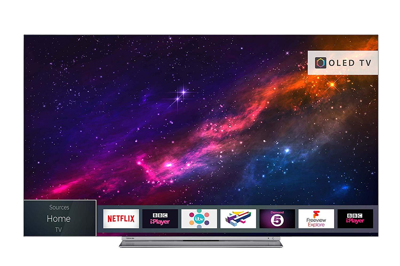 Toshiba 65X9863DB 65-Inch Smart 4K Ultra-HD HDR OLED TV £1,250.09 at Amazon