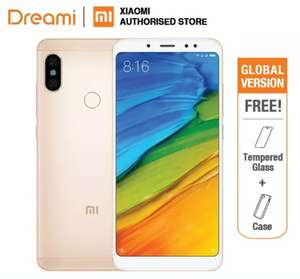 Global Version Xiaomi Redmi Note 5 64GB ROM 4GB (Brand New and Sealed)  £126.59 w/new user coupon @ Xiaomi Dreami Store Aliexpress