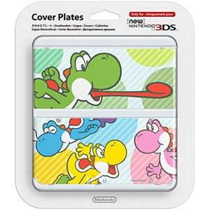 Official Nintendo New 3DS Cover Plate - (Yoshi / Hello Kitty) £2.95 Delivered @ The Game Collection