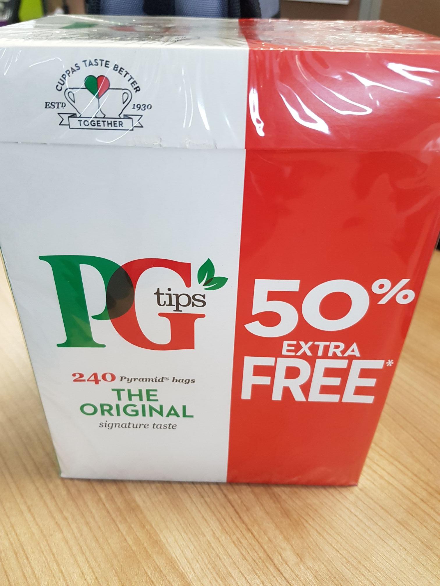 PG tips 240 X for £3.49 instore @ Home Bargains (Bradford)