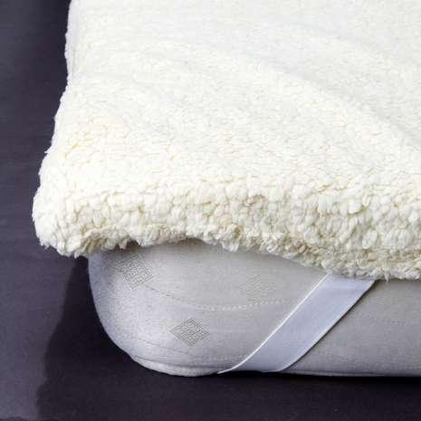 Teddy bear memory foam mattress topper (Double) - £15 @ Dunelm
