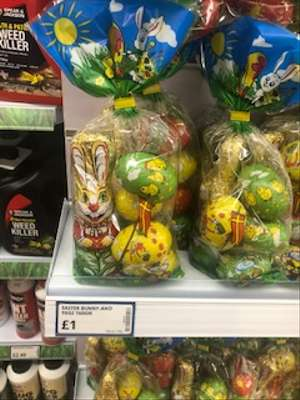 Easter Bunny And Eggs 160 Grams Instore @ Poundstretcher £1