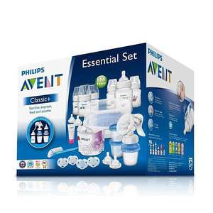 REDUCED TO CLEAR. Philips Avent Classic+ Essential Set £72.50 @ Tesco Extra Wembley