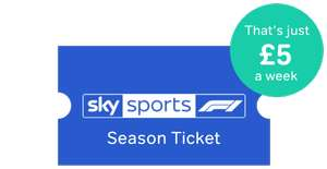 Now TV Sky Sports (all channels) Season Ticket (branded F1) 9 Months £195 (saving £110.91)