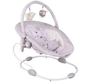 Cuggl music sounds & vibrations baby bouncer in sheep design £32.99 @ Argos