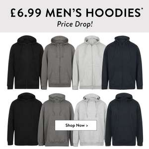 Men's hoodies for £6.99 each + £1.99 delivery @ Tokyo Laundry