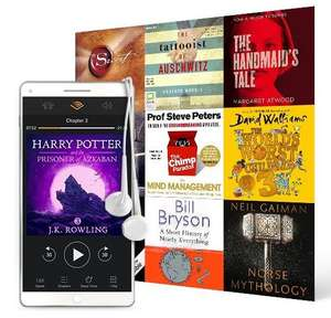 Two free Audiobooks + 30-day free trial for iD Mobile customers at Audible UK