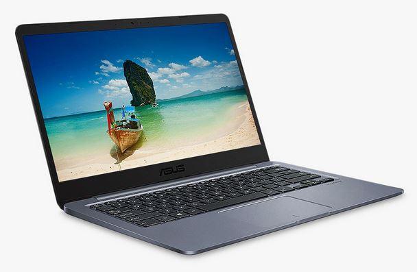 "ASUS Vivobook E406 Laptop, Intel Celeron Processor, 4GB RAM, 64GB eMMC, 14"", Star Grey £199.99 John Lewis & Partners"