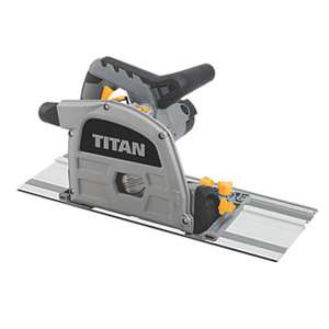 Titan 1200w Plunge Saw for £70 B&Q Trade point Lincoln