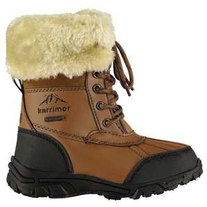 Karrimor Casual Childrens Snow Boots @ Sports Direct for £17.99 delivered