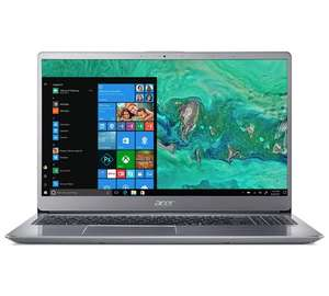 Acer Swift 3 Laptop, 15.6 Inch, i5 8th Gen, 4GB RAM (can upgrade), 1TB HDD with 16GB Optane, new 2018 model £449.99 Argos
