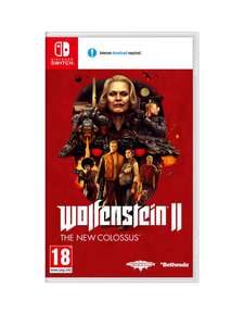 Wolfenstein 2: The New Colossus (Nintendo Switch) £28.99 (Free Click & Collect) £32.98 delivered @ Very