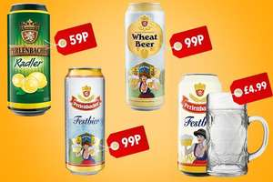 Lidl Wheat beer and Pilsner 500ml 99p instore