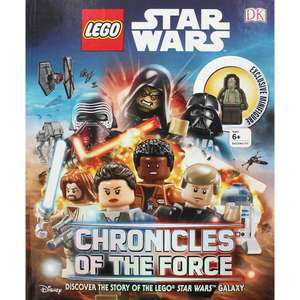 LEGO Star Wars Chronicles Of The Force Book With Minifigure £2.40 @ The Works (With Code)