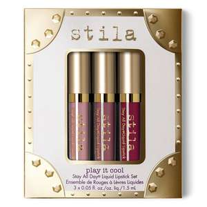 Stila All Day Makeup Lipstick Set now £9 in Sale with code @ Stila - Delivery from £2 / Free on Orders £60+