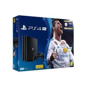 Sony PlayStation 4 Pro 1TB with Fifa 18 Black £249 @  Co-op Electrical ebay