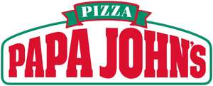 50% off entire order (includes sides and desserts) over £30 @ Papa John's