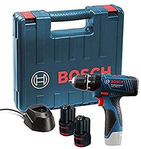 Bosch GSB 120 - LI Professional 12V with 2 x 1.5 Ah Batteries with Charger and Carry Case - £64.99 @ Amazon