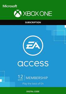 EA Access 12 Month Subscription Xbox One only £16.99 at CDKeys