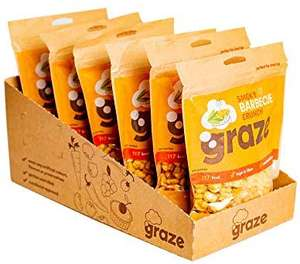 Various Graze Share Bags - £9.00 @ Amazon Prime for 6 x 104g or (£7.65 S&S) + £4.49 P&P Non-Prime