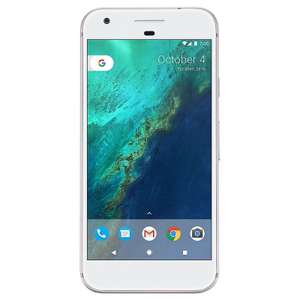 Brand New GOOGLE PIXEL XL 32GB SIM FREE - Silver - NOW UPGRADABLE TO ANDROID Q BETA - £203.99 WITH CODE @ eGlobal Central