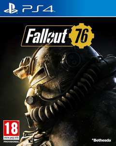 Fallout 76 PS4 (New & Sealed) £15.49 @ eBay/evergameuk