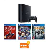 1TB Playstation 4 Pro with Marvel's Spider-Man + The Division + South Park: The Fractured But Whole and NOW TV - £359.99 + more @ GAME