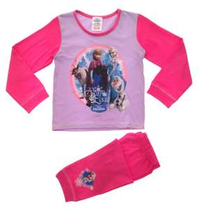 Disney Frozen Girls Long Pyjamas Pjs (18-24m) @ Amazon Sold And Dispatched By Lora Dora £1.81 Delivered
