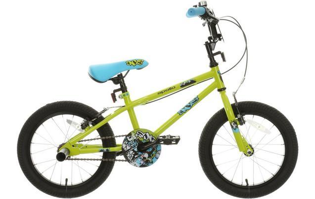 "Apollo Ace Kids Bike - 16"" Wheel £60 @ Halfords"