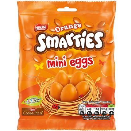 Smarties Orange / Smarties standard/ Milky Bar  Mini Eggs 90g - 2 for £1.50 @ B&M