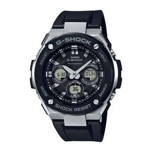 CASIO G-SHOCK GST-W300-1AER with multi band and solar at Browns Family Jewellers for £177