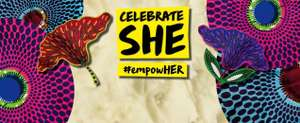 Free entry - Celebrate She Event, Truman Brewery, Ely's Yard, 15 Hanbury Street, Shoreditch, E1 6QR - 9th March - 10th March 2019