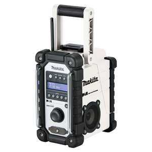 Makita DMR109W 18v DAB digital Radio white - Power tool world £83.00
