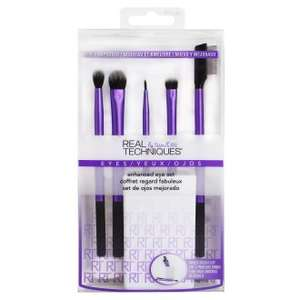 Real Techniques 6 piece Enhanced Eye Make Up Brush Set -  Cruelty Free - now £6.95 delivered @ OnBuy / Frontline Pharmacy