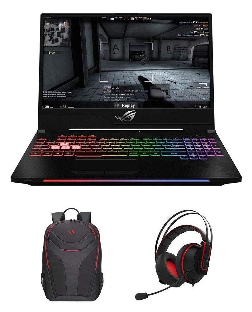 ASUS ROG GL504GS-ES111T 15.6 Inch 144 Hz 3 ms Gaming Laptop - (Black) + FREE Bag & Headset, £1,349.97 @ Amazon UK
