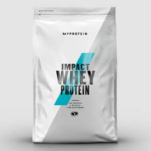 2.5kg Impact Whey Protein [All flavours] £22 + Free delivery @ Myprotein