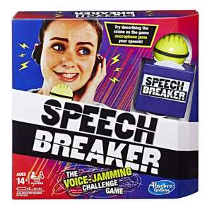 Hasbro Speech Breaker Party Game  £5 -  Amazon Prime Add on item