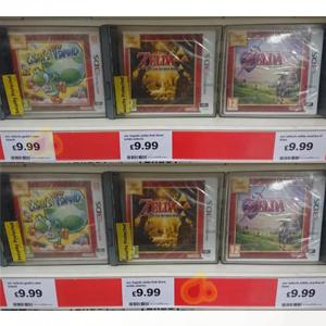Yoshi's New Island / Zelda Link between worlds / zelda ocarina of time - Nintendo 3ds Games - £9.99 each in sainsbury