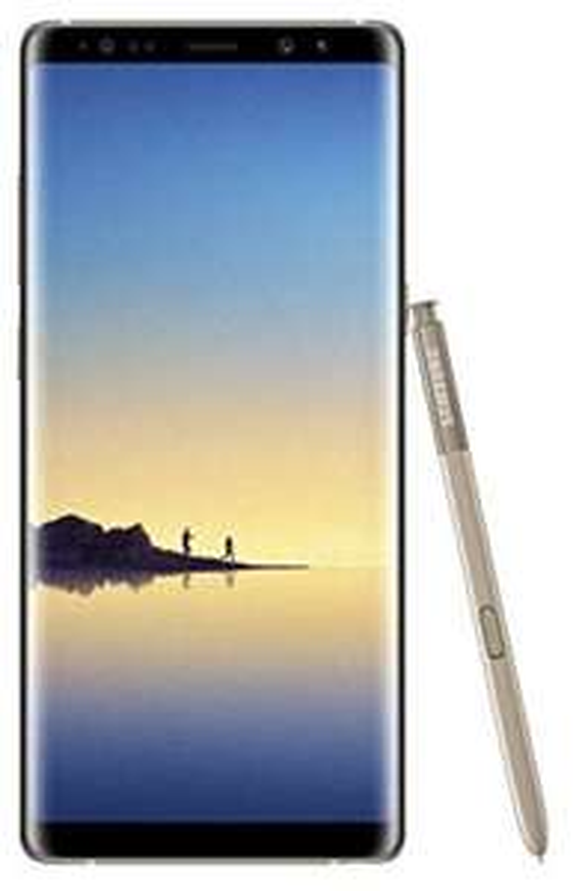 Samsung Galaxy Note 8 Gold single sim brand new - £392.99 @ Ebuyer