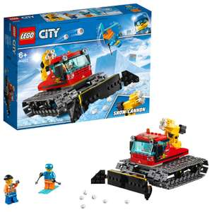 LEGO 60222 City Great Vehicles Snow Groomer Plough Set, Toy Tractor for Kids @ Amazon £13.99 Prime £18.48 Non Prime