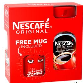 Nescafe Original Instant Coffee & Cheeky Mug - £5 @ Asda (Online & Instore)