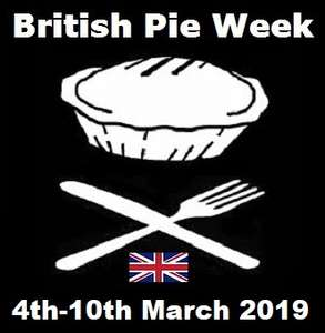 Morrisons Chunky Steak Pie only 50p down from £1.25 for British Pie Week - see OP for topcashback