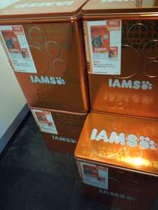 IAMS tin including 3kg Dry Cat Food and free 85g pouch £6.99 @ B&M